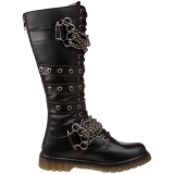 Vegan BOLT-450 demonia boots - unisex combat boots