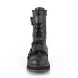 Vegan VALOR-220 demonia ankle boots - unisex combat boots