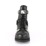 Vegan VALOR-280 demonia ankle boots - unisex combat boots
