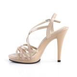 beige 11,5 cm FLAIR-413 fabulicious sandaler platå