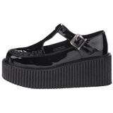 blank CREEPER-214 platå creepers sko til kvinners