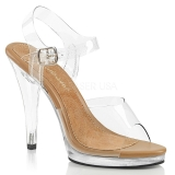 brun 11,5 cm FLAIR-408 dame sandaletter lavere hæl