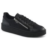 canvas 4 cm SNEEKER-105 sneakers creepers sko til menn