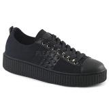 canvas 4 cm SNEEKER-107 sneakers creepers sko til menn