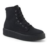 canvas 4 cm SNEEKER-201 sneakers creepers sko til menn