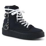 canvas 4 cm SNEEKER-256 sneakers creepers sko til menn