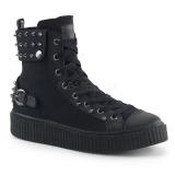 canvas 4 cm SNEEKER-266 sneakers creepers sko til menn