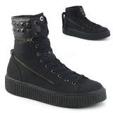 canvas 4 cm SNEEKER-270 sneakers creepers sko til menn
