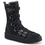 canvas 4 cm SNEEKER-318 sneakers creepers sko til menn