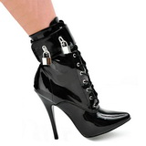 fetish ankel høye støvletter dame 15 cm DOMINA-1023