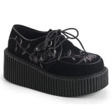 gotiske sko dame platåstøvletter punker platåsko kvinner