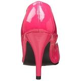 fuchsia lakkert 10 cm DREAM-420 kvinner pumps høye hæler