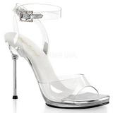 gjennomsiktig 11,5 cm CHIC-06 høyhælte stiletter sko