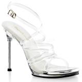 gjennomsiktig 11,5 cm CHIC-07 høyhælte stiletter sko