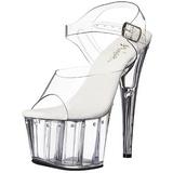 gjennomsiktig 18 cm Pleaser ADORE-708LS høye hæler damer sko