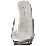 gjennomsiktig krystall platform 13 cm LIP-101SDT høyhælte slipper sko