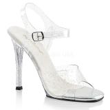 glitter 11,5 cm Fabulicious GALA-08MMG dame sandaler med hæl