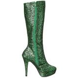 grønn glinser 13 cm LOLITA-300G platå høye støvler
