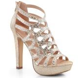 gull 11,5 cm Pleaser SELENE-24 sandaler med høye hæler