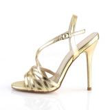 gull 13 cm Pleaser AMUSE-13 dame sandaler med hæl
