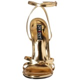 gull 15 cm Devious DOMINA-108 dame sandaler med hæl