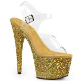 gull glitter 18 cm Pleaser ADORE-708LG pole dancing sko