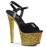 gull glitter 18 cm Pleaser SKY-309LG pole dancing sko