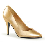 gull matt 10 cm VANITY-420 dame pumps sko flate hæl
