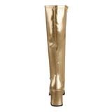 gull matt 7,5 cm Funtasma GOGO-300 høye støvler dame