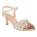 gull strass 6,5 cm AUDREY-03 høye fest sandaler med hæl