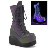 hologram 13 cm VOID-118 demonia støvler med kilehæl