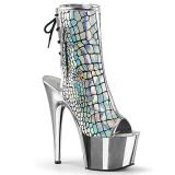 hologram 18 cm ADORE-1018HG ankelstøvletter med platåsåle til dame