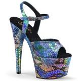 hologram 18 cm ADORE-709SP pleaser høye hæler for kvinner