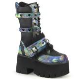 hologram 9 cm ASHES-120 cyberpunk platå støvler