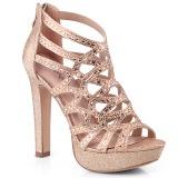 kobber 11,5 cm Pleaser SELENE-24 sandaler med høye hæler