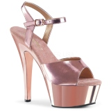 kobber 15 cm KISS-209 platform høyhælte sko