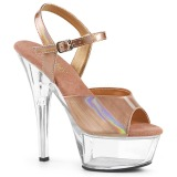 kobber 15 cm KISS-209BHG platform høyhælte sko