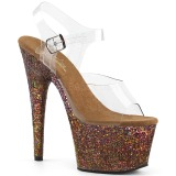 68974352 dansesko danse høye hæler gogo high heels platåsandaler høyhælte ...