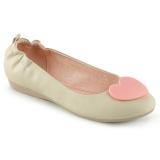 krem OLIVE-05 ballerinasko lave damesko
