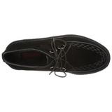 kunstlær 5 cm CREEPER-502S platå creepers sko til menn