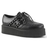 kunstlær 5 cm V-CREEPER-538 platå creepers sko til menn