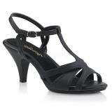 kunstlær 8 cm Fabulicious BELLE-322 dame sandaler med lav hæl