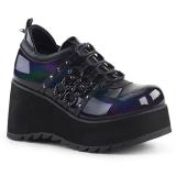 kunstlær 8 cm SCENE-31 lolita sko gothic platåsko