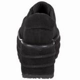kunstlær 9 cm TEMPO-08 platå gotisk sko til menn