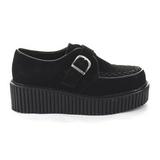 kunstlær CREEPER-118 platå creepers sko til kvinners