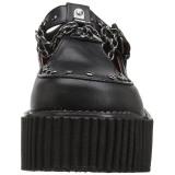 kunstlær CREEPER-215 platå creepers sko til kvinners