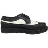 lær 2,5 cm CREEPER-608 platå creepers sko til menn