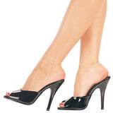 lakklær 13 cm Pleaser SEDUCE-101 høyhælte slipper sko