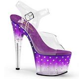lilla 18 cm STARDUST-708T platå høyhælte sandaler sko