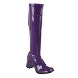 lilla lakk 7,5 cm Funtasma GOGO-300 høye støvler dame
